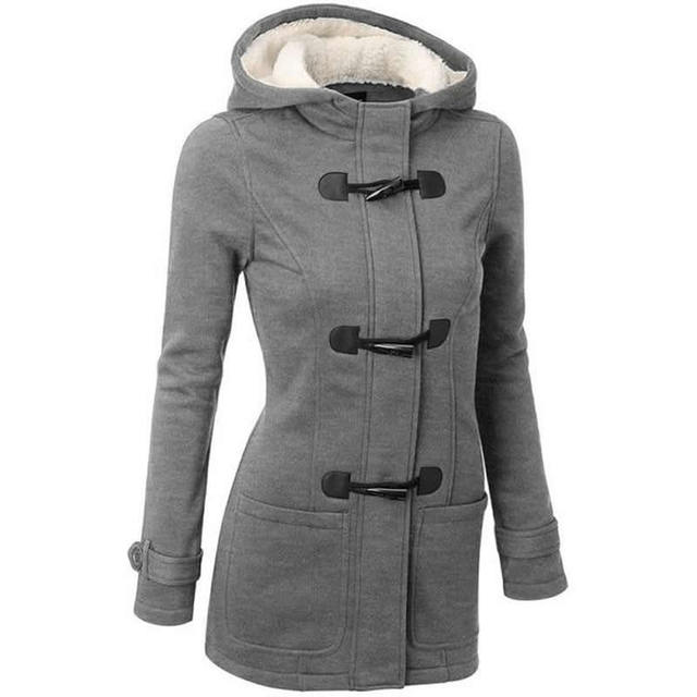 Suprem плюс большой размер clothing Кисточкой женщины основные пальто зима панк бомбардировщик куртка с капюшоном chaqueta mujer готический верхняя одежда xl, xxl