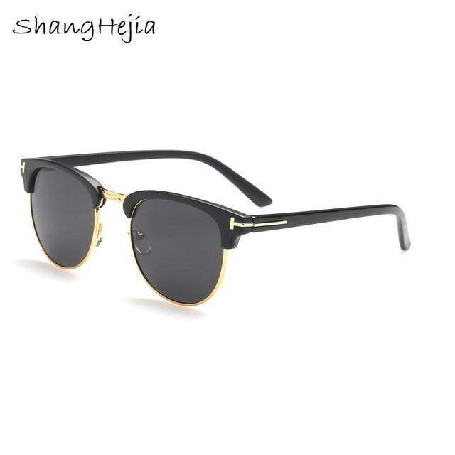 d68a4a4ef0 2017 James Bond Sunglasses Men Brand Designer Sun GlassesWomen Super Star  Celebrity Driving Sunglasses Tom for Men Eyeglasses