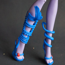 wholesale fashion trend Children kids baby toys Girls Gift Doll Accessories shoes bjd casual For Monster High original Dolls 1/6(China)