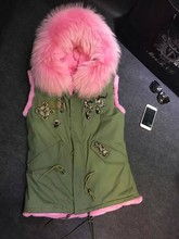 Free shipping factory price 6 Color snack beading faux rabbit fur lined big raccoon fur collar