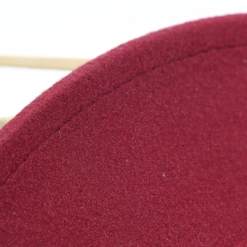 Aliexpress.com  Comprar LUCKYLIANJI Retro HQ fieltro de lana niño niños  Color sólido Panamá Fedora sombrero Vintage gángster Cap (tamaño  54 cm aa1f0a3dd6d