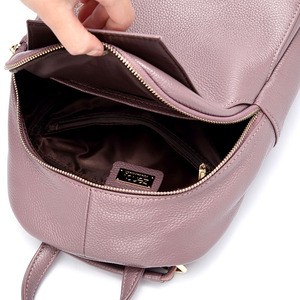 Image 5 - Zency 여성 정품 가죽 배낭 숙녀 패션 여행 가방 Femal 일일 휴일 배낭 Preppy 스타일 소녀의 Schoolbag