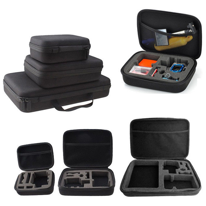 Action Sport Camera Travel Carry Case Storage Protective Bag Box for GoPro Hero <font><b>7</b></font> 6 5 4 <font><b>3</b></font> 2 SJCAM <font><b>6000</b></font> 8000 9000 Xiao YI image