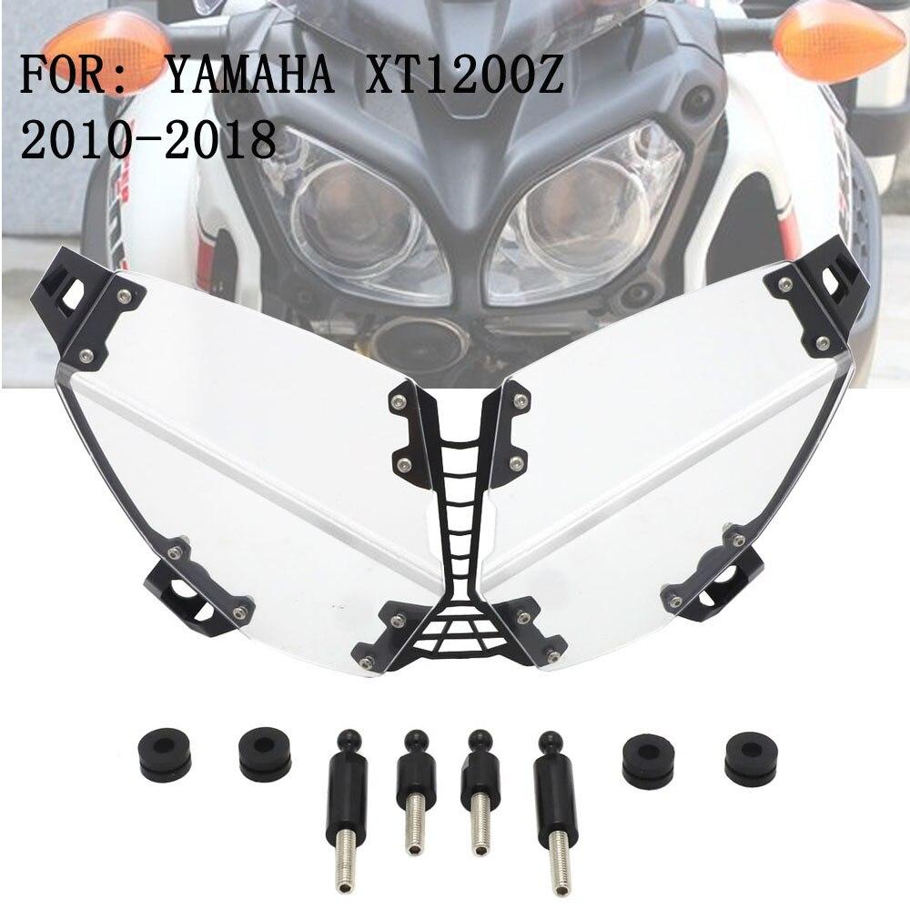 オートバイヘッドライトクリアヘッドライトカバープロテクターヤマハスーパー Tenere XT 1200 Z XT1200 XT1200Z 2010 2018  グループ上の 自動車 &バイク からの カバー & オーナメント作り の中 1