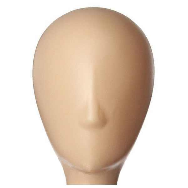 Mannequin Model Lady hoge plastic hoofd pruik hoofd vrouwelijke model hoofd 3 kleuren voor keuze