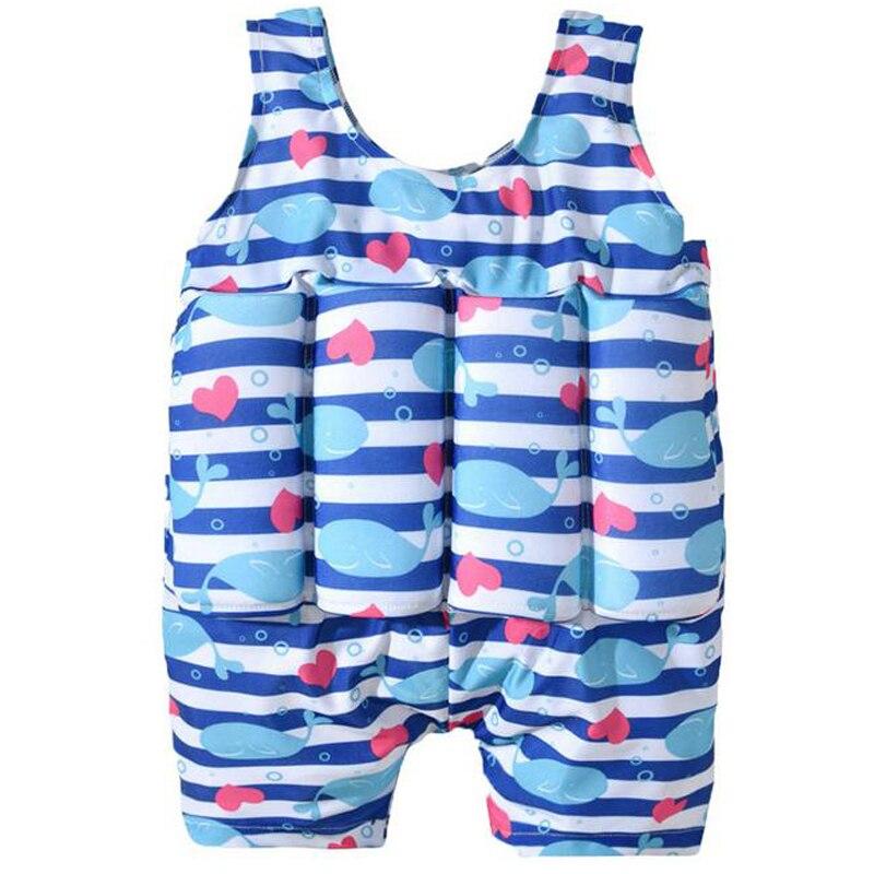 Baby Swimwear Safety Buoyancy Float Swimsuit For Toddler Children Kid Boy Girl