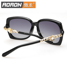 Free shipping high quality new fashion lady gradient polarized sunglasses polarizer A243