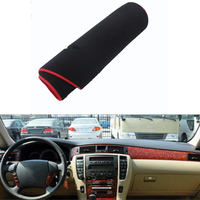 For Toyota Crown 2005 2009 Car Dashboard Avoid Light Pad Instrument Platform Desk Cover Mat Silicone