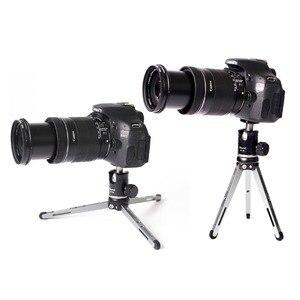 Image 5 - Ulanzi XILETU Mini Aluminum Alloy Tripod Monopod Flexible Camera Holder W 360° Rotated Ballhead For Canon Nikon Sony DSLR Camera