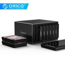 ORICO 3.5 inch 8 Bay USB3.0 Hoge Speed Tool Gratis Harde Schijf Behuizing voor Windows voor MacOS voor Linux (NS800U3)