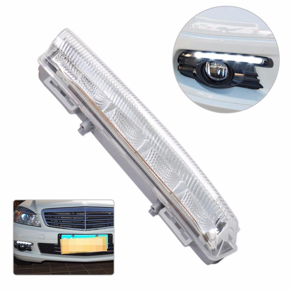 DWCX 2049069000 А204 906 90 00 1шт дневного ходового огня правый туман Лампа, пригодный для Benz w204 Мерседес w212 Мерседес S204 R172