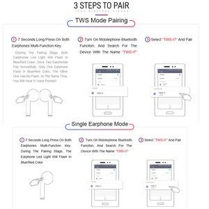 Image 5 - I7s TWS אוזניות אוויר מיני אלחוטי Bluetooth אוזניות סטריאו Earbud אוזניות מיקרופון עבור Iphone Xiaomi כל חכם טלפון i10 i12 i9s