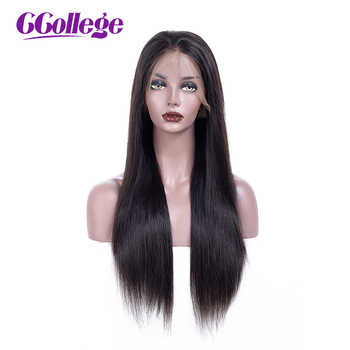CCollege 360 Lace Frontal Wig With Baby Hair Non Remy Straight Hair Glueless Brazilian Human Hair 360 Lace Wigs For Women - DISCOUNT ITEM  52% OFF All Category