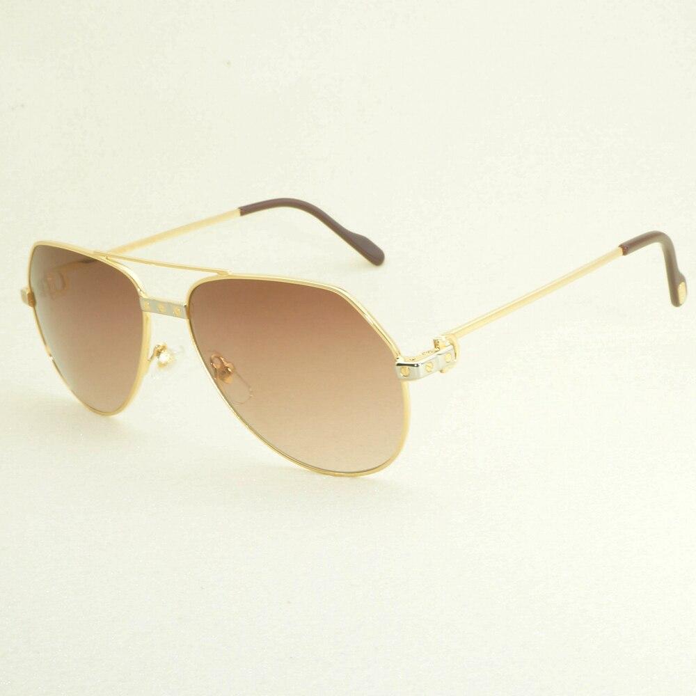Luxury Aviator Sunglasses Men Shades Women Sunglasse Carter Glasses Retro Sun Glasses Accessories of Eyewear for Summer Driving