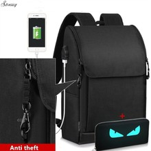New Multifunction USB charging Males 17inch Laptop computer Backpacks For Teenager Style Male Mochila Leisure Journey backpack anti thief