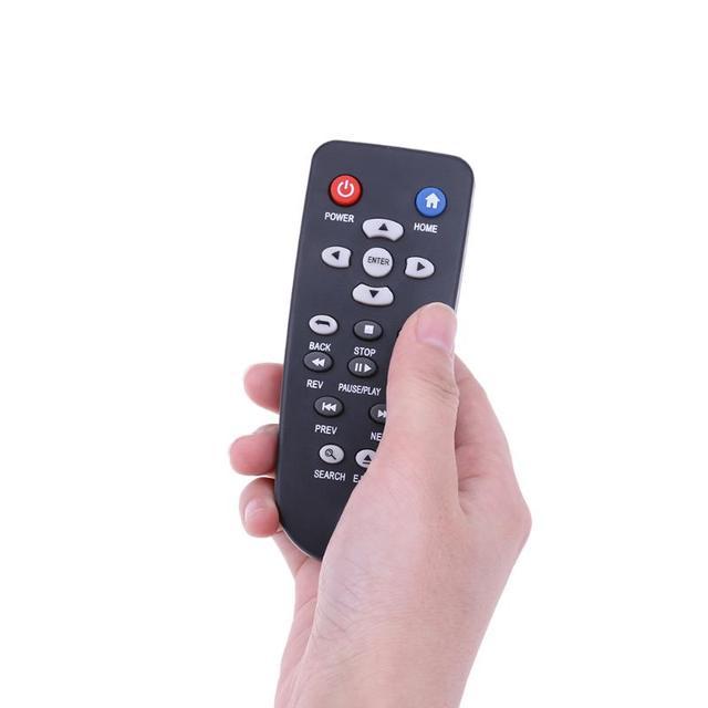 Télécommande de remplacement tv à distance pour Western numérique WD TV Live Plus lecteur HD WDBACA0010BBK/WDBG3A0000NBK