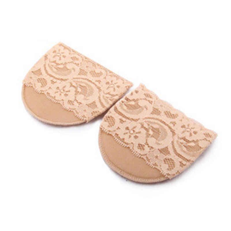 1 Pairสาวเลดี้รองเท้าส้นสูงForeเท้าดูแลป้องกันInsolesเบาะผ้า