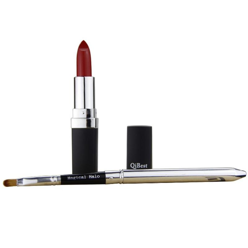 Matte Lip Stick Long Lasting Lipstick Waterproof Lip Tattoo Retro Red - Makeup - Photo 6