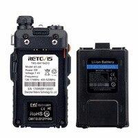 128ch 5w vhf uhf 10pcs Retevis RT-5R DTMF מכשיר הקשר 5W 128CH UHF + VHF Dual Band רדיו שני הדרך רדיו Communicator Hf משדר A7105A (5)