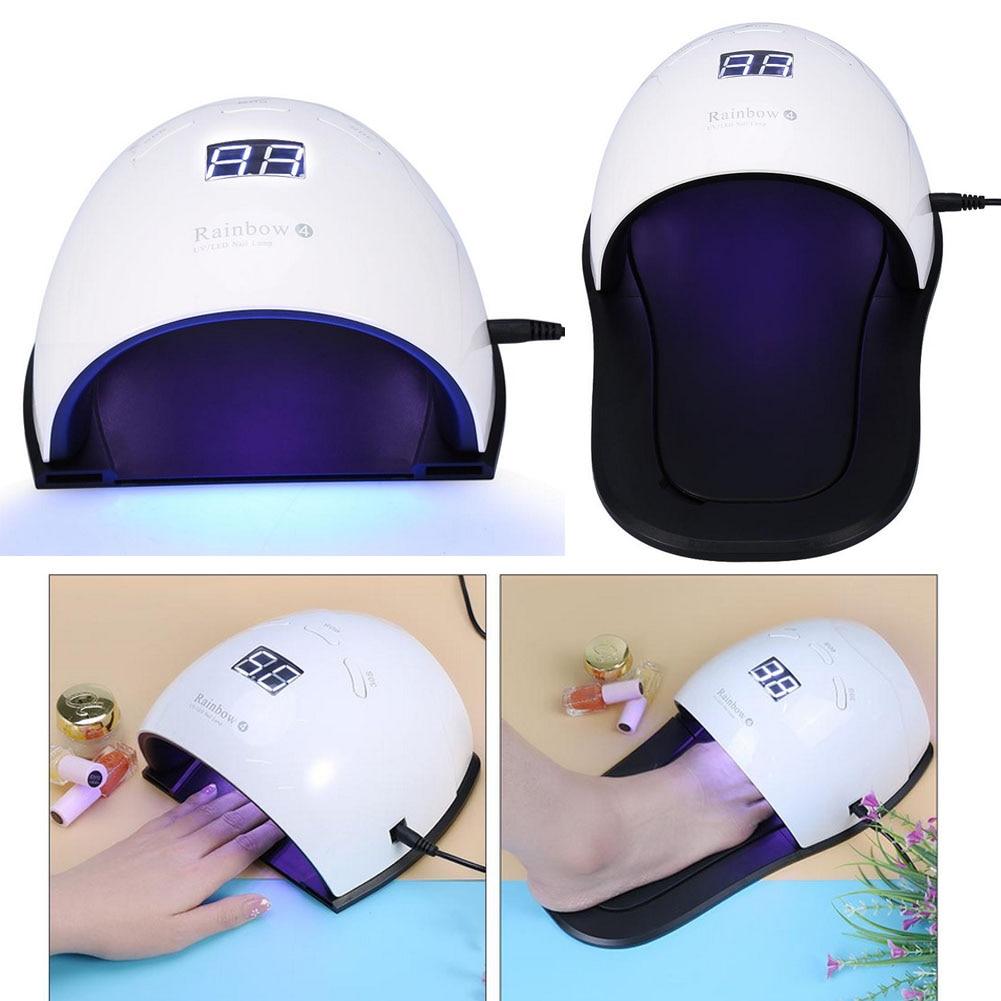 48W UV LED Lamp Nail Manicure Dryer for Fingernail Toenail Gel Polish Curing Drying Hand Foot LED Lamp Polish Nail Art Tool