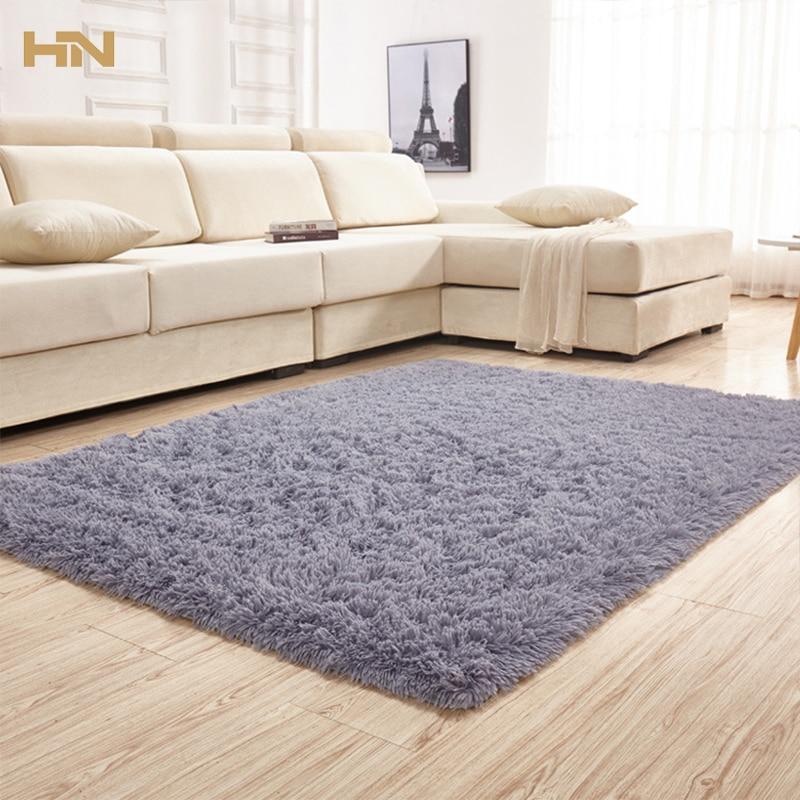 80x120cm Silky Carpet Mats Sofa Bedroom Living Room Anti ...