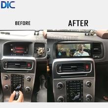 DLC Android sistema de navegación reproductor de coche multifunción GPS coche estilismo 8,8 pulgadas video audio para volvo S60 V60 2011-2017