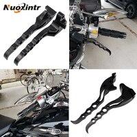 NUOXINTR Motorcycle Brake Clutch Levers Black Chrome New For Suzuki Boulevard M109R 2006 2017