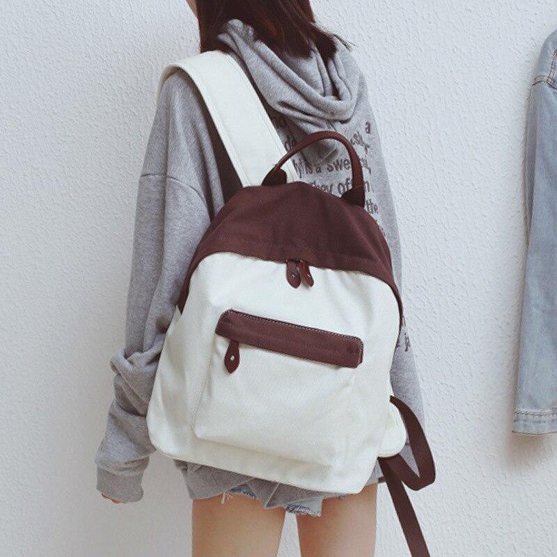 old 184032 Print graffiti female backpack new college wind leisure backpack