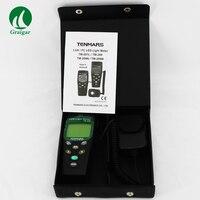 Цифровой светодио дный светодиодный свет измеритель уровня TM 209 400000 Lux FC измерения Lux метр TM209 с высокой точностью