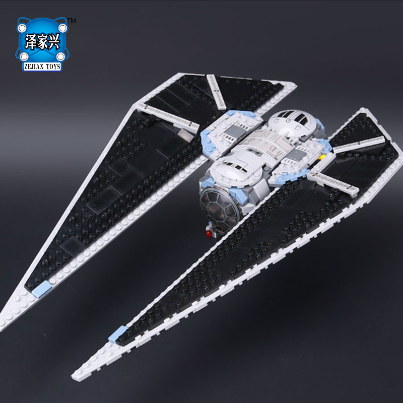 star series wars TIE Striker Building Bricks Blocks Toys for Children Boys Game Plane Weapon Compatible with Lepins DIY Model lepin 22001 imperial flagship building bricks blocks toys for children boys game model car gift compatible with bela decool10210