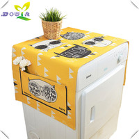 European drum washing machine cover cloth cotton single door refrigerator cabinet cover towels cover household cloth dust cloth