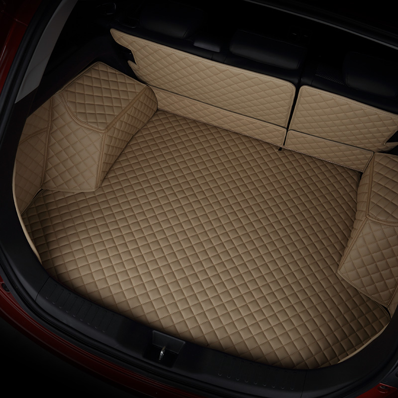 kalaisike custom car trunk mat for Peugeo all models 301 408 308 508 4008 5008 3008 2008 car styling auto accessories