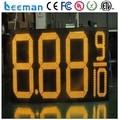 "leeman Led Manufacturer 16"" 5 Digits Outdoor LED Digital Gas Price Display with RF Remote gas station led price digital sign"