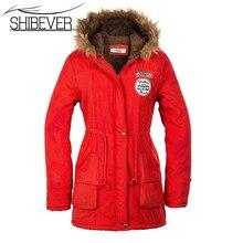 New 2015 Women Jacket Warm Solid Hooded winter Coat fashion Slim Fur Collar Jackets hot sale outwear JT142