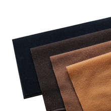 Polyester Loop Fleece Fabric can Hook Brushed Brown Black Velboa Velvet for Patchwork Sewing Plush Felt Cloth DIY Doll Stuff Toy(China)