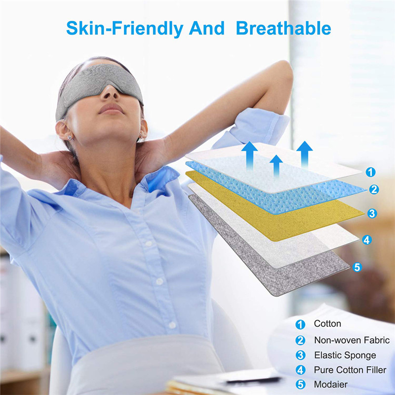 ligth-blocking eye mask for sleep