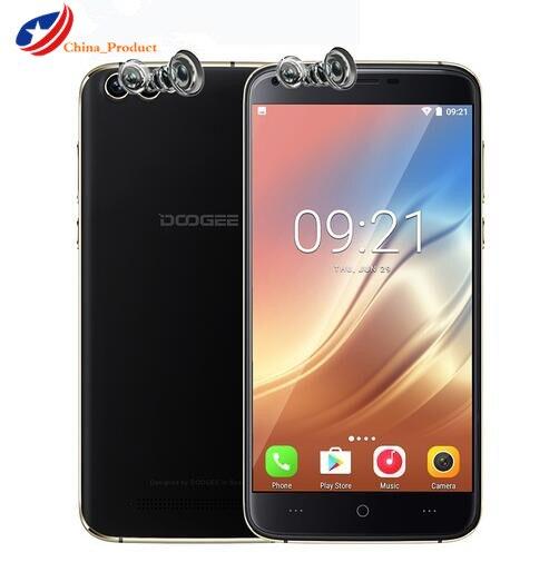 Original DOOGEE X30 Four Camera 2x8 0MP 2x5 0MP Android 7 0 mobile phone 3360mAh 5