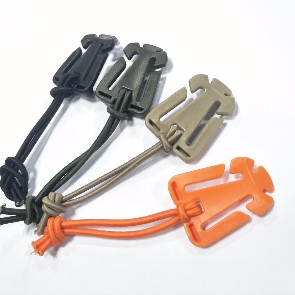 2Pcs/lot ITW Dominator Molle Nylon Backpack Bag Hanger Carabiner EDC Tools Elastic Rope Webbing Buckle Winder Camping Multi Tool