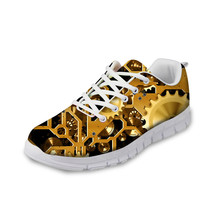 e lov printed boo a madea halloween canvas shoes low top women casual leisure shoes happy halloween gifts ThiKin Fashion Men Low-Top Walking Shoes Teenager Casual Sneaker Lightweight Cool Metal Gear Printed Leisure Lace-up Shoes