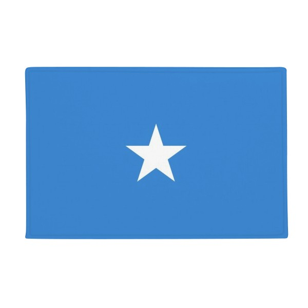 Somali National Flag Africa Country Anti-slip Floor Mat Carpet Bathroom Living Room Kitchen Door 16x30Gift