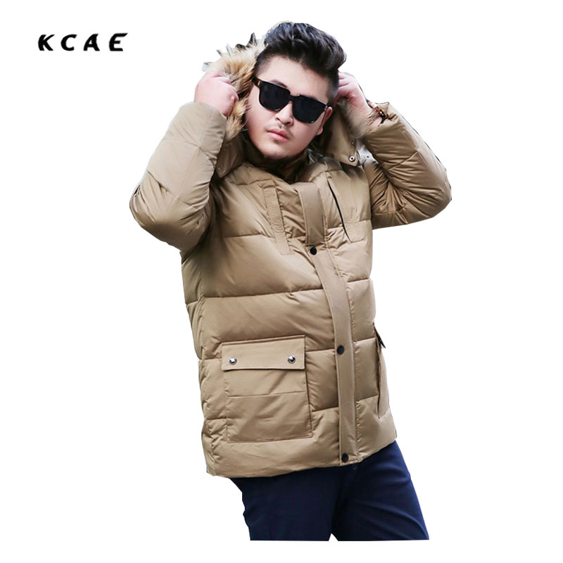 Winter men's Coat men Thicker in the Long section of the cotton collar Large size men's Fat models cotton coat 8XL 9XL 10XL 2017 korean version of the thickening of female workers in the long coat lambskin coat winter coat large size coat