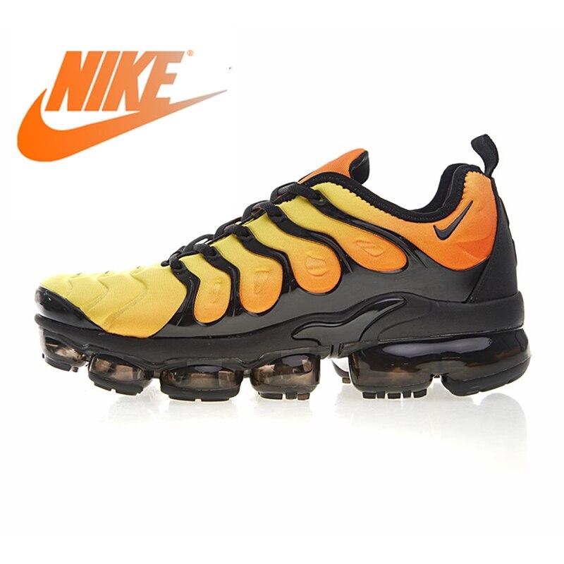 Original authentique Nike Air Vapormax Plus TM chaussures de course pour hommes mode chaussures de sport de plein Air Designer Durable 924453-051
