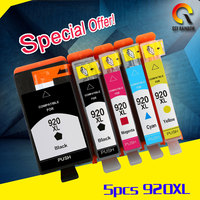 5PK Full Ink Cartridge For Hp 920 XL Compatible For HP Officejet 6000 6500 Wireless 6500A