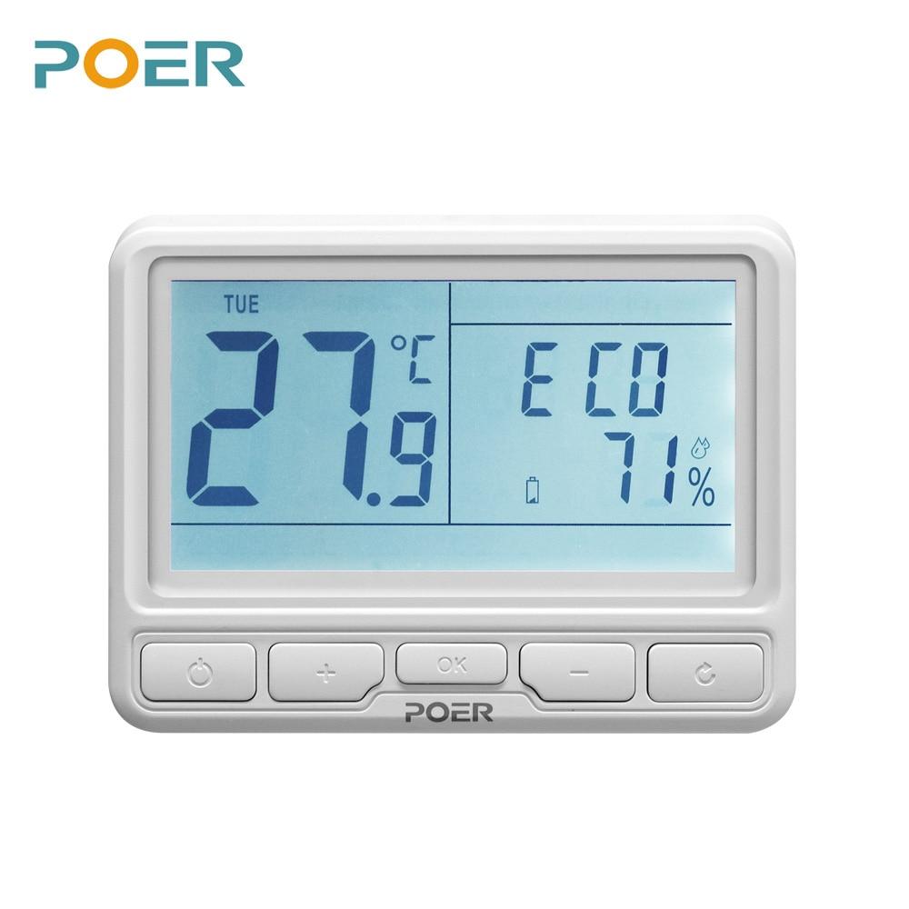 Controlador remoto de sala inalámbrica wifi termostato digital hogar - Instrumentos de medición - foto 2