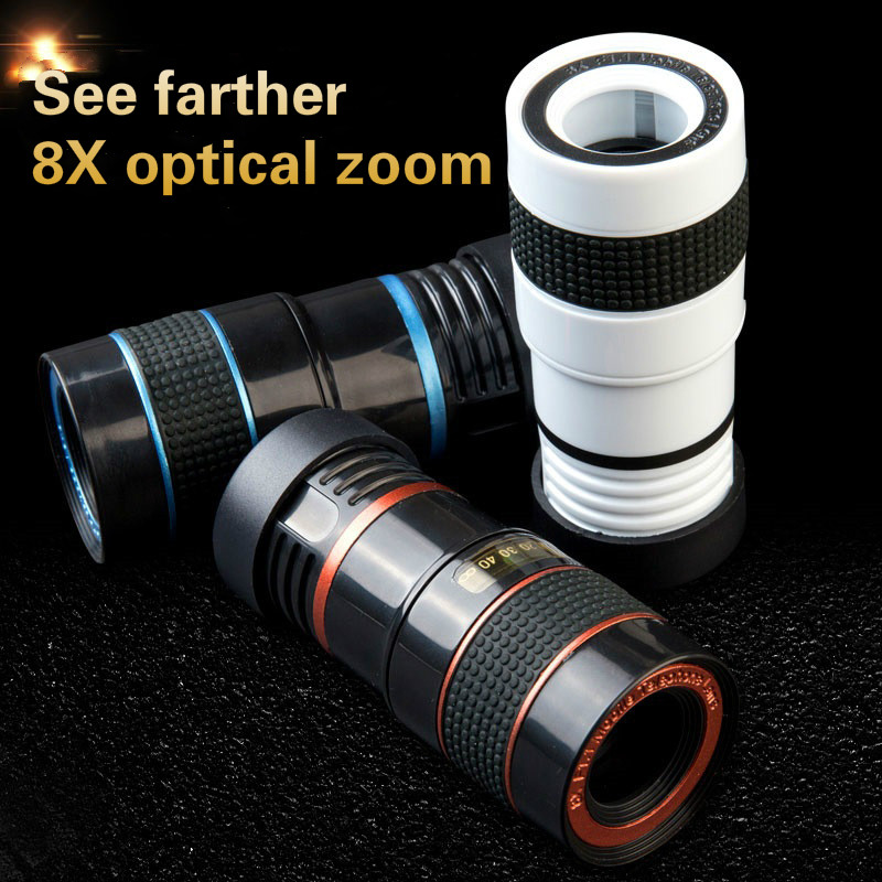Drop ship 8X Telephoto Lens Eight Times Zoom Effect High