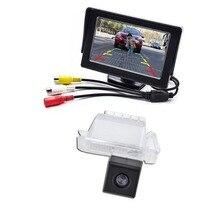 Резервного Копирования Монитор автомобиля для Камеры Заднего Вида для Ford Focus Fiesta Mondeo Kuga Транзит Вид Сзади Парковка