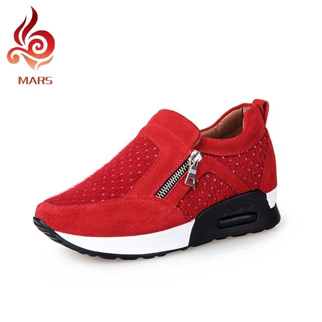 Zapatos rojos ESPADRILLES para mujer 808sn