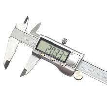 Buy online Electronic Rule Vernier Caliper 0-150mm Measuring Device Instruments Silver