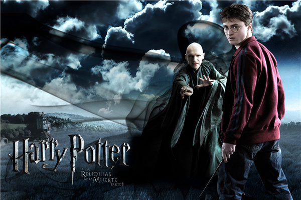 Custom Canvas Harry Porter Wall Stickers Harry Porter Poster Lord Voldemort Wallpaper Deathly Hallows Mural Christmas Decor #895