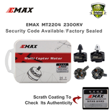 EMAX 4PCS MT2204 2300KV Brushless Motor (2CW+ 2CCW) Quadcopter 250 280 for RC Racing Drone Quadcopter fpv fit esc Free shipping